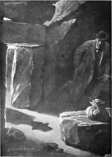 Sherlock Homes Hound of the Baskervilles 1902 Sidney Paget,  7x5 Inch Print