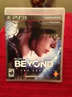 Beyond Two Souls PS3 Game, Tested, Quantic Dream 2013, Ellen Page, Willem DaFoe