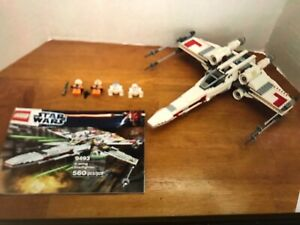 LEGO STAR WARS 9493 X-WING STARFIGHTER COMPLETE, NO BOX