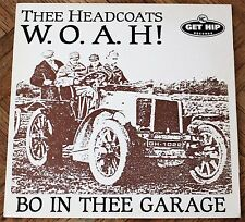 Thee Headcoats ‎– W.O.A.H! - Bo In Thee Garage LP 1993 Get Hip Red Vinyl