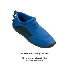 Playshoes Unisex-Erwachsene Badeschuhe Surfschuhe 174501 d blau