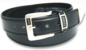 Ossi Mens Belt Leather Lined Dress Casual Waist Buckle Q5055
