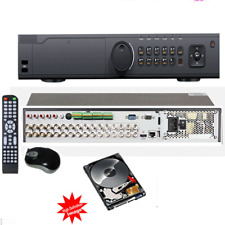 32CH Network Hybrid DVR Security 5-in-1 5MP HD / 8MP IP Cameras up to 40 ch