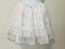 LIZ LISA small roses feminine chiffon skirt Kawaii skirt from Japan