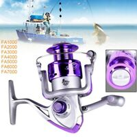 8BB 5.2/1 Gear Ratio Saltwater/Freshwater Metal Fishing Spinning Reel FA Series