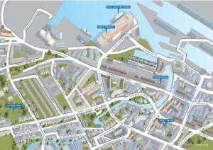 Leith Street Map 1000 Piece Jigsaw Puzzle   690mm x 480mm (jg)