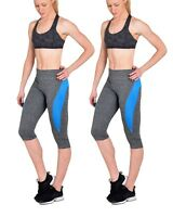 33a19fe922 ONE SIZE!! Women Sports Gym Yoga Workout Activewear 2 Pieces Top+ ...