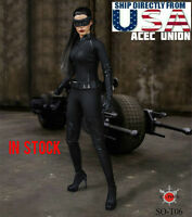 1/6 Catwoman Head Clothing Set Batman Returns For PHICEN Hot Toys USA IN STOCK