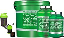 SCITEC Nutrition 100% aislado de proteína de Suero de Leche Sacudir 700G 2KG 4KG Extra Glutamina + S