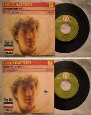 45 LUCIO BATTISTI  - AMARSI UN PO' - SI VIAGGIARE - ANNO 1977 - Stampa Germania