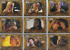 QUOTABLE XENA COMPLETE SET OF WORDS FROM THE BARD CARDS