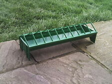 Plastic Poultry Chick Chicken Trough Feeder With Grid 50cm