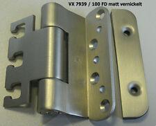 Simonswerk Objektband VX 7939/100 FD matt vernickelt