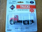 Boley HO 185-400617 3-Axle Stake Bed Truck --red/white