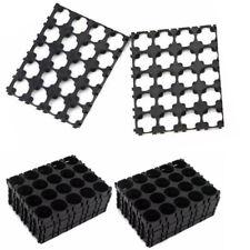 10x 18650 Battery 4x5 Cell Spacer Radiating Shell Plastic Heat Holder Bracket