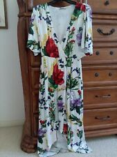 ALICE + OLIVIA  white wildflower CLARINE wrap dress DRESS NWT  4