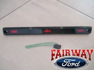 17 thru 21 Super Duty OEM Ford Dually DRW Center Rear Red Marker Lamp w/ Pigtail