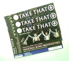 TAKE THAT TICKETS - Mint Condition Ticket(s) Milton Keynes 24/06/06 Memorabilia