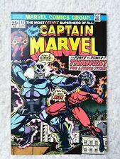 Captain Marvel #33 Starlin Bronze Key VF+ Thanos Origin