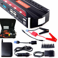 68800mAh Multi-Function Car Jump Starter Pack Booster Charger Battery 4USB Power