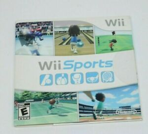 NINTENDO WII ** WII Sports ** COMPLETE NEW SEALED IN SLEEVE SHIPS FAST SAME DAY