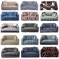 Elastic Sofa Covers 1 2 3 4 Seaters Slipcover Living Room Stretch Couch Chair