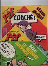 PIF Gadget Lot des n°700 à 710.  Août à novembre 1982. Neuf sans gadgets