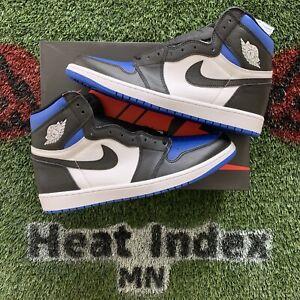 """Air Jordan 1 Retro High OG """"Royal Toe"""" - Size 13"""
