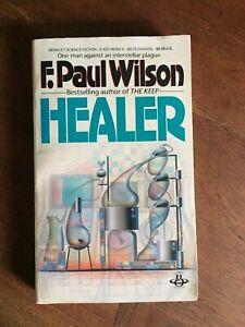 Healer by F. Paul Wilson 1984, Paperback Horror SciFi