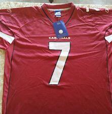NWT AUTHENTIC NFL Matt Leinart #7 Arizona Cardinals RED Reebok Jersey SIZE 2XL