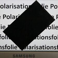 Polarisationsfolie Polfolie Inverterfolie Invertierfolie LCD Polfilter 154x97 mm
