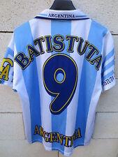 VINTAGE Maillot ARGENTINE BATISTUTA n°9 ARGENTINA jersey shirt football S