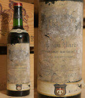 1961er Chateau Martinet - Saint Emilion - Top Jahrgang & Rarität !!!!!!!