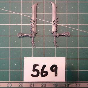 Ossiarch Bonereaper Immortis Guard Sword Arms Pair - Warhammer & AOS Bits