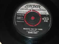 Duane Eddy:   Because They're Young    1960    EX+    7""