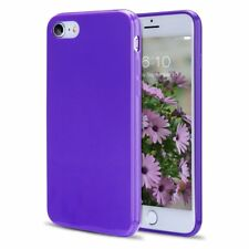 For iPhone 8 7 Case Soft TPU Shockproof Proteceive Solid Color Silicone Cover