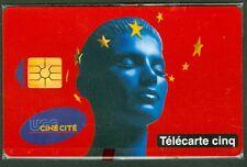 TELECARTE 5 UNITES GN 415  UGC  CINECITE  BORDEAUX   NSB