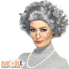 MEZZALUNA BICCHIERI sporchi VECCHIO HEAD Pettine per Fancy Dress Baldy MAN Calvo Parrucca