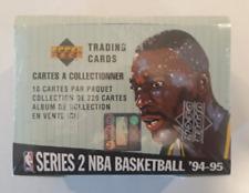 Upper Deck Series 2 NBA Basketball '94-95 Sealed Trading Card Box