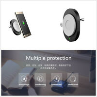 ABS Mini Qi Wireless Car Charger Air Vent Mount Phone Holder For Samsung Galaxy