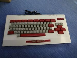 Family BASIC Keyboard Nintendo Famicom NES Tested Work