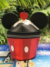 Disney Parks Mickey Mouse Cupcake Shaped Cosmetic Case Bag New with tags