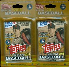 2015 Topps Series 2 3 pack blister ( 2 Package Lot ) 6 packs in total