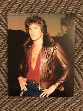 David Hasselhoff Signed 8x10 Photo Autographed Bay Watch Knight Rider