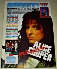 RARE Vintage 1989 METAL FORCES Magazine #45 - MOTLEY CRUE.VENOM,SOUNDGARDEN