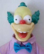 """VINTAGE KRUSTY DOLL. 11"""". THE SIMPSONS. PLAY BY PLAY. 1993"""
