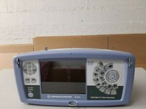 Rohde & Schwarz EFL340 Portable TV Test Receiver, 5 MHz to 2500 MHz