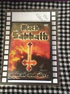 Black Sabbath - Undead And Alive (DVD - Brand New & Sealed )