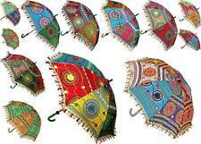 Wholesale Lot 10  Indian Sun Parasol Decorative Women Wedding Designer Umbrella