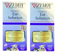 ZYMOX Enzymatic Ear Solution With Hydrocortisone 0.5%   (2-Pack)